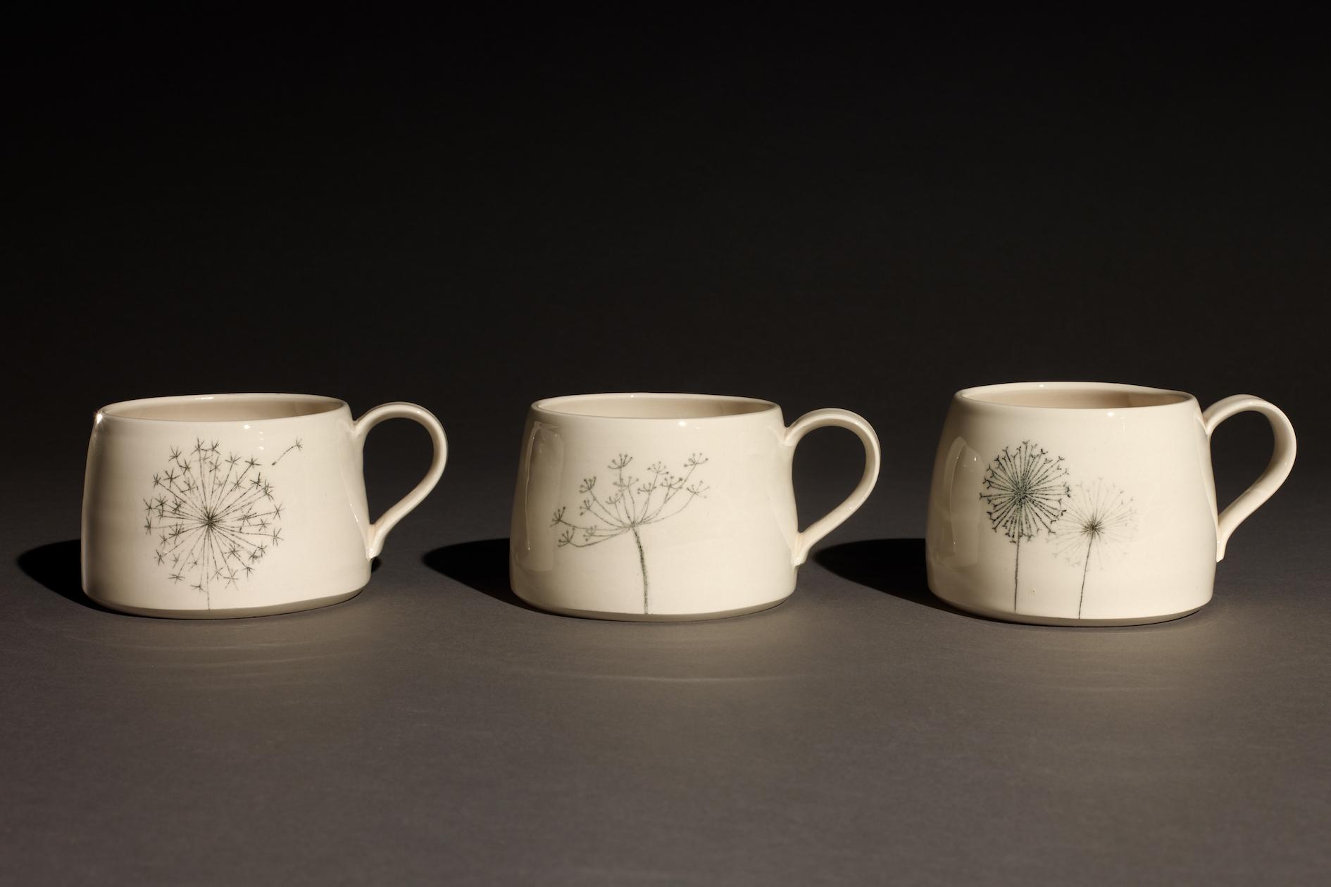 Wendy Calder Alium Mugs