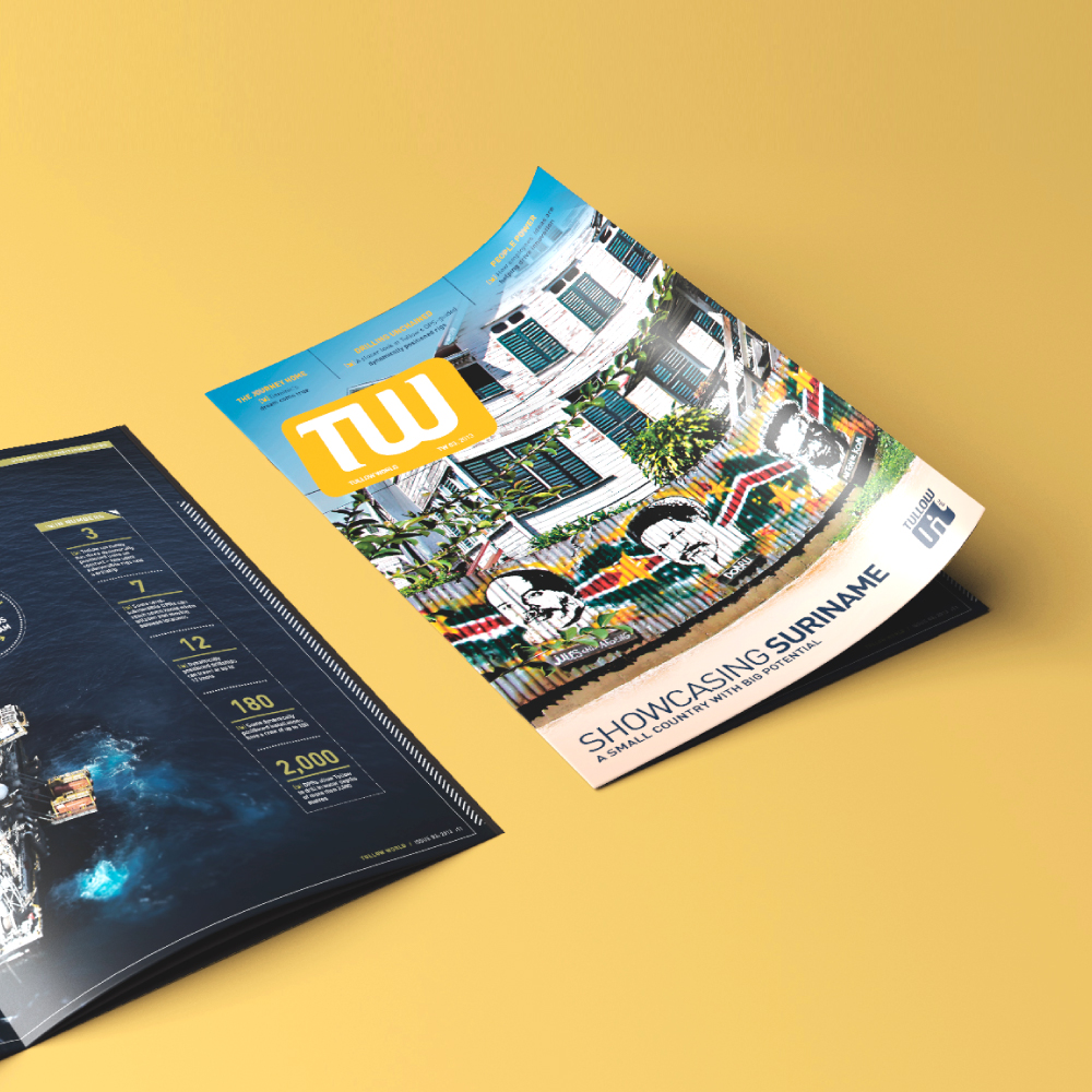 <strong>Tullow Oil</strong>Uniting a disparate workforce with a new magazine.