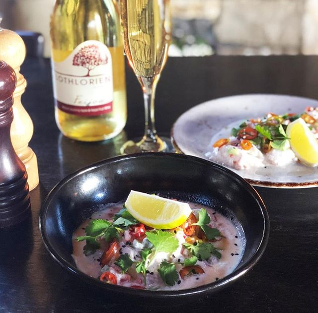 @stablesmatakana Feast Plate is drool-worthy!⠀⠀⠀⠀⠀⠀⠀⠀⠀ Their Snapper Kokoda dish is available now!⠀⠀⠀⠀⠀⠀⠀⠀⠀ 🐟🥥🌶⠀⠀⠀⠀⠀⠀⠀⠀⠀ Leigh Line Caught Snapper. Chardonnay Vinegar. Lime. Coconut. Capers. Red onion. Capsicum. Celery. Matakana Chillis. Coriander. Matakana Olive Oil.⠀⠀⠀⠀⠀⠀⠀⠀⠀ *Matched with @lothlorienfeijoawine⠀⠀⠀⠀⠀⠀⠀⠀⠀ -⠀⠀⠀⠀⠀⠀⠀⠀⠀ @lothlorienfeijoawine @matakanaextravirginoliveoil @leefishnz