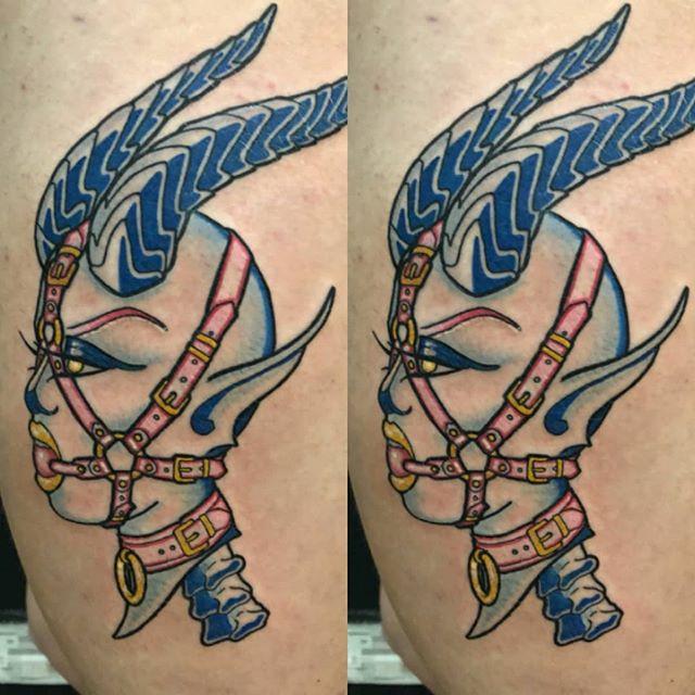 Bondage demon #tattoo #apprentice #demon #hypetattoo