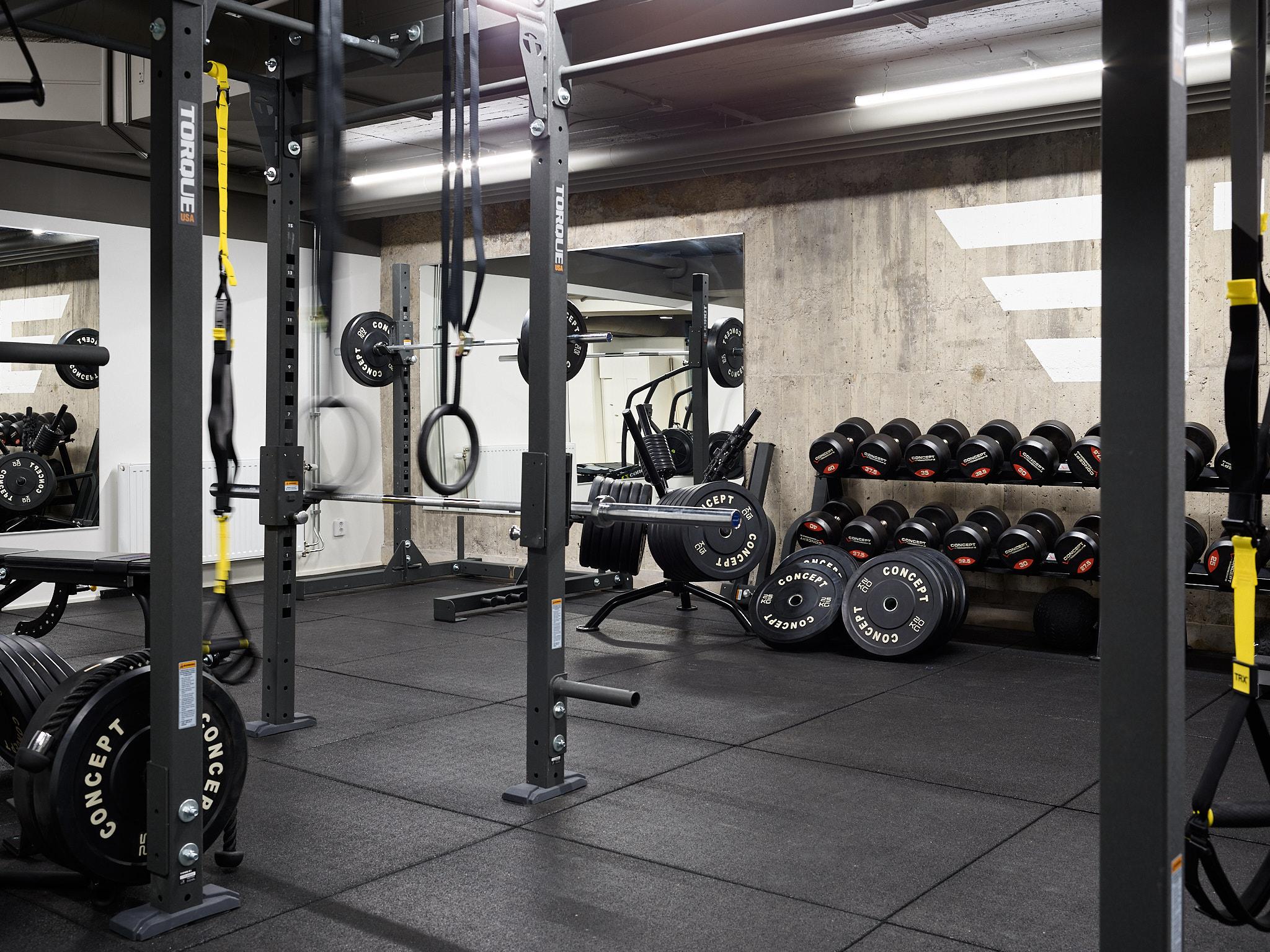 Ditt gym - Du kan och du vill. I vårt gym så kan du uppnå dina mål. Vi erbjuder ett komplett gym från Concept träningsredskap där du och våra tränare hjälper dig nå dit du vill - hitta din styrka.