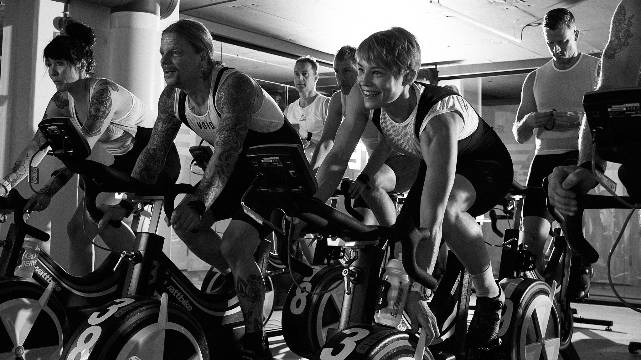 Gruppträning på cyklar - Företagsfriskvård med ett skräddarsytt upplägg efter era behov