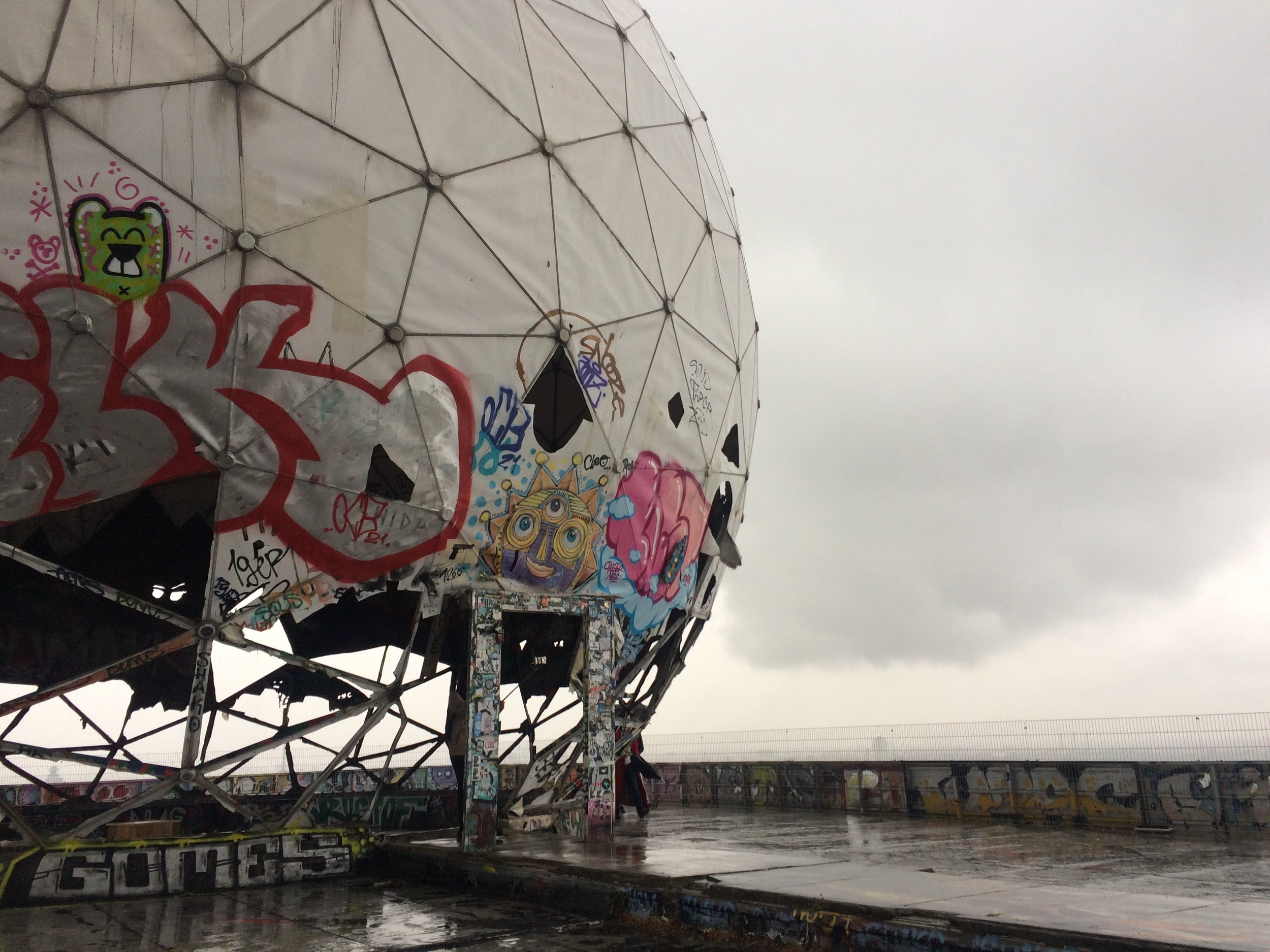 Teufelsberg is for Spies - Abandoned by the U.S., Teufelsberg has become a fascinating excursion for Berliners curious about the city's espionage past. Published in The Daily Beast.