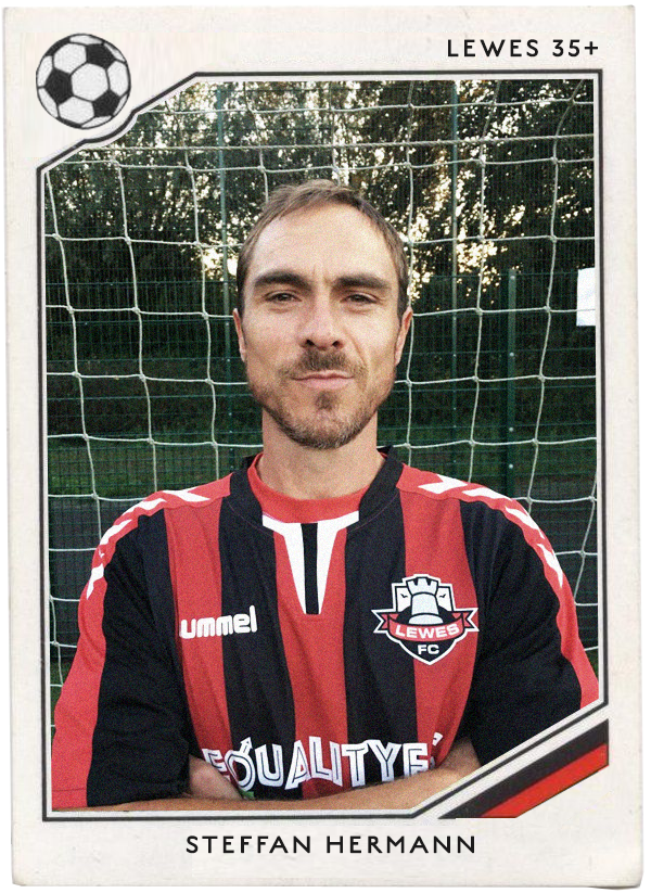 NAME : Steffen Herrmann  POSITION : Forward  TEAM : SC Freiburg - the Breisgau Brazilians  FOOTIE MOMENT:  World Cup Finals 1990 and 2014
