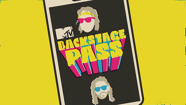 MTV BACKSTAGE PASS