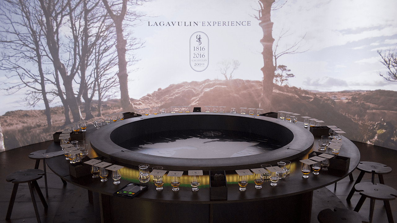 The Lagavulin Experience launched with an invite only event at the Oval Space in Hackney, London.