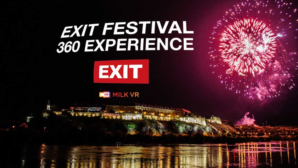 EXIT FESTIVAL 360°