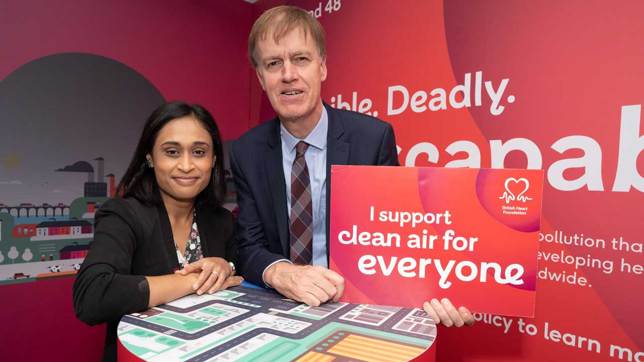 The message getting out there with Stephen Timms Labour MP for East Ham.