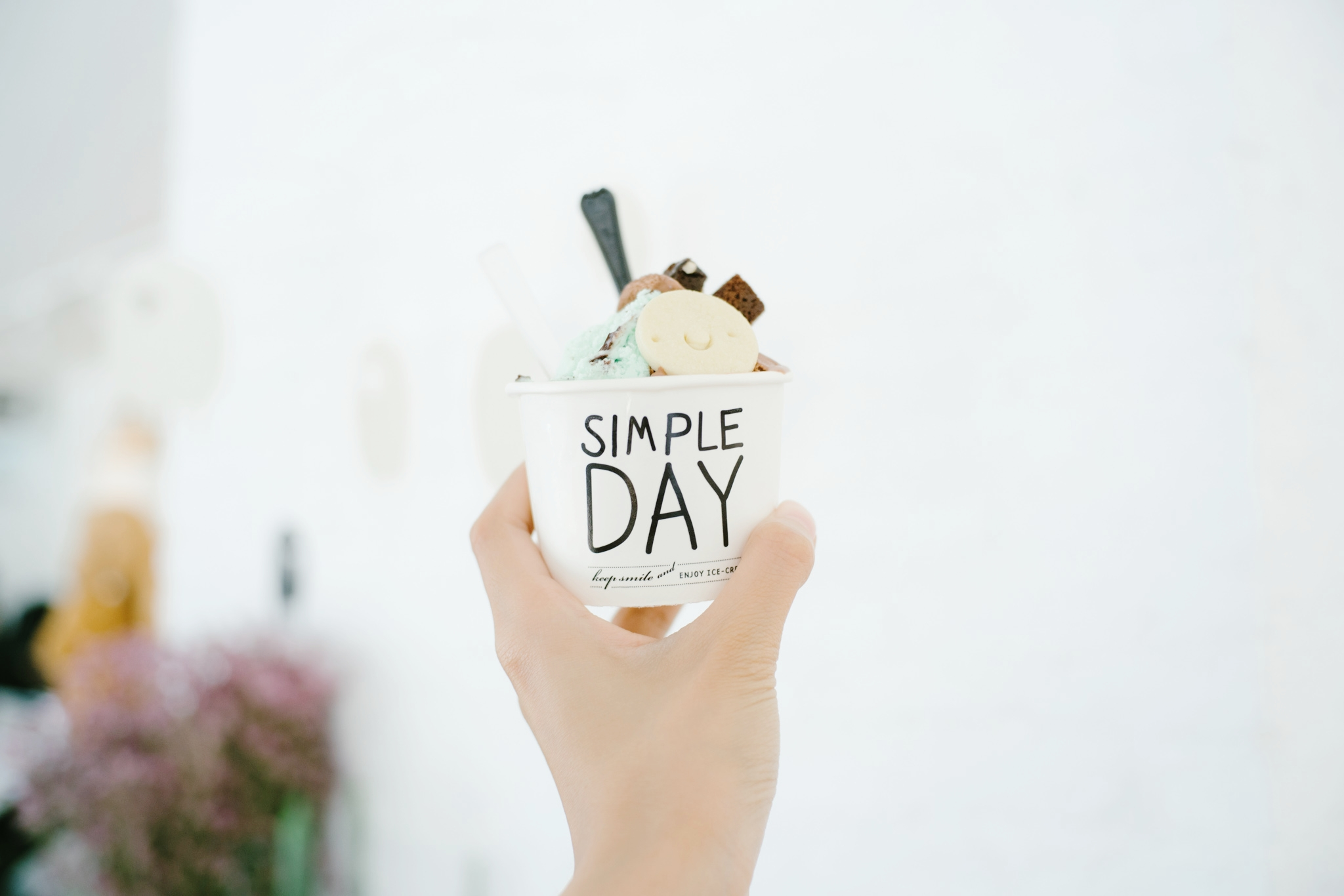 GELATO - We served a simple unique Ice Cream favors everyday. We believe that