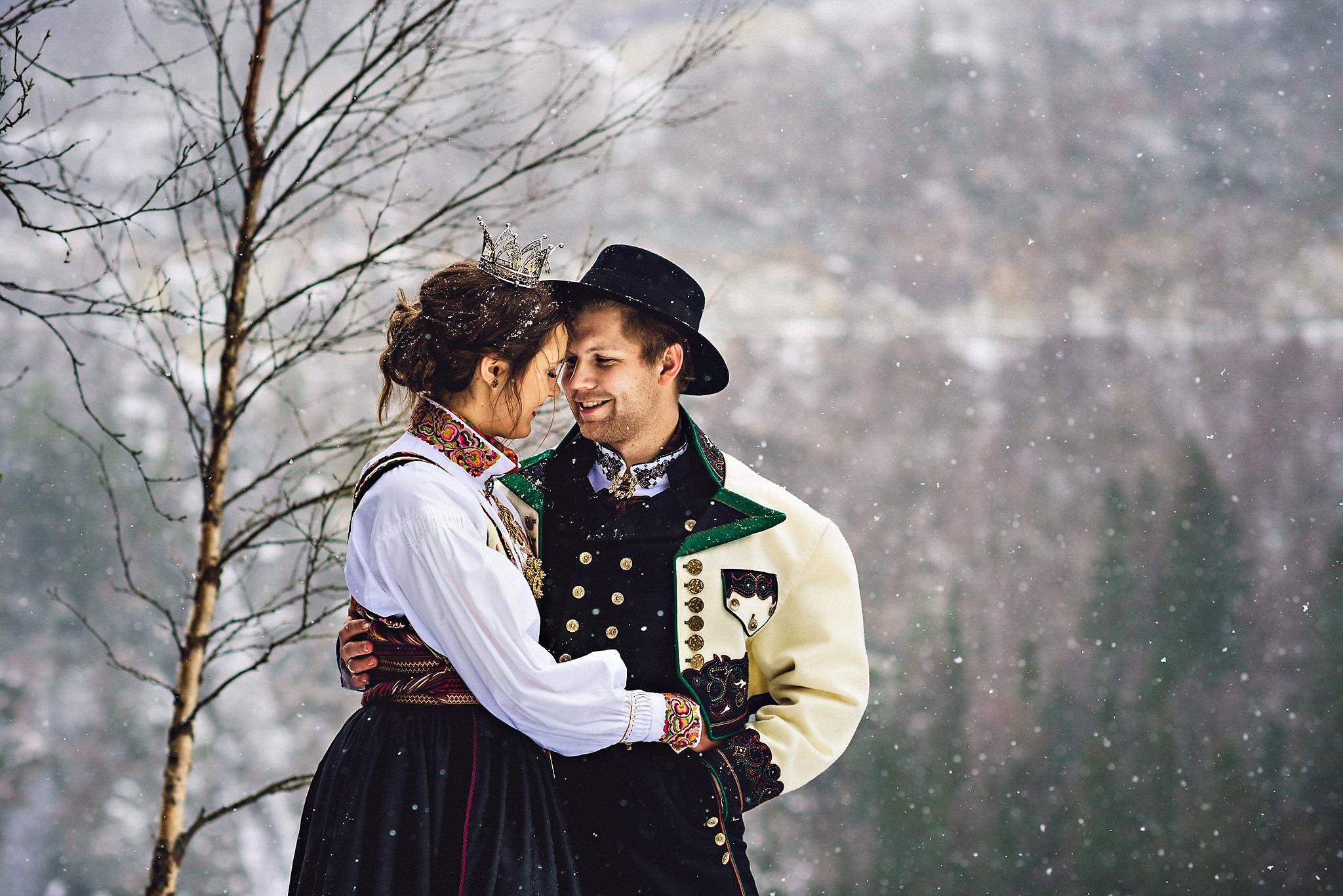 Bryllupsfotograf Gaustablikk og Rjukan i Telemark