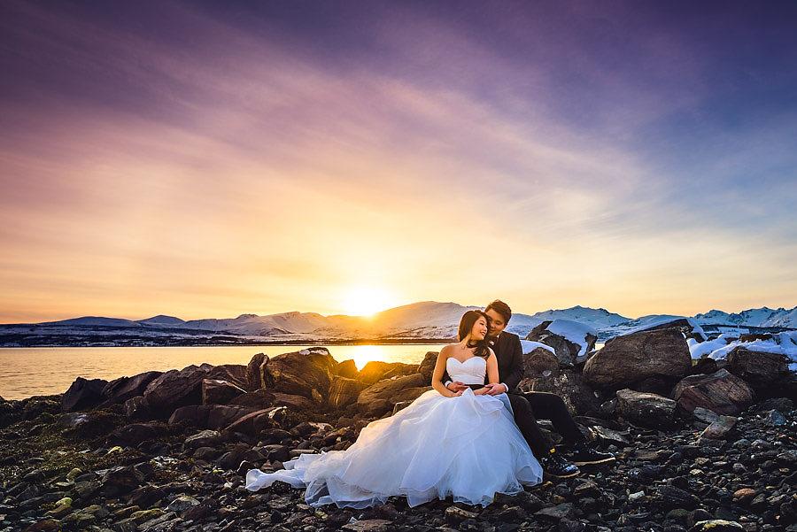 Reiste fra Singapore til Norge for å ta bryllupsbildene