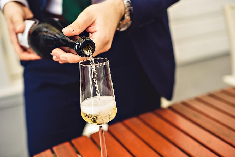 bryllupsfotograf stavanger champagne