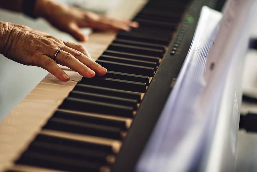 keyboard og piano til bryllup i stavanger