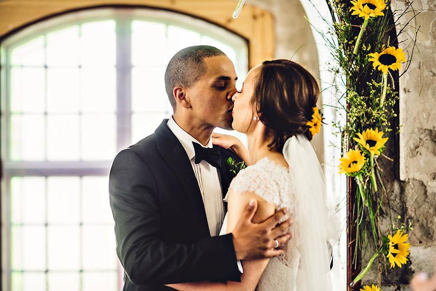 første kyss bryllupsfotograf stavanger