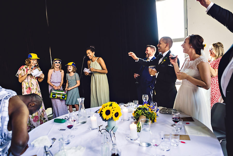 bryllupstale og lek
