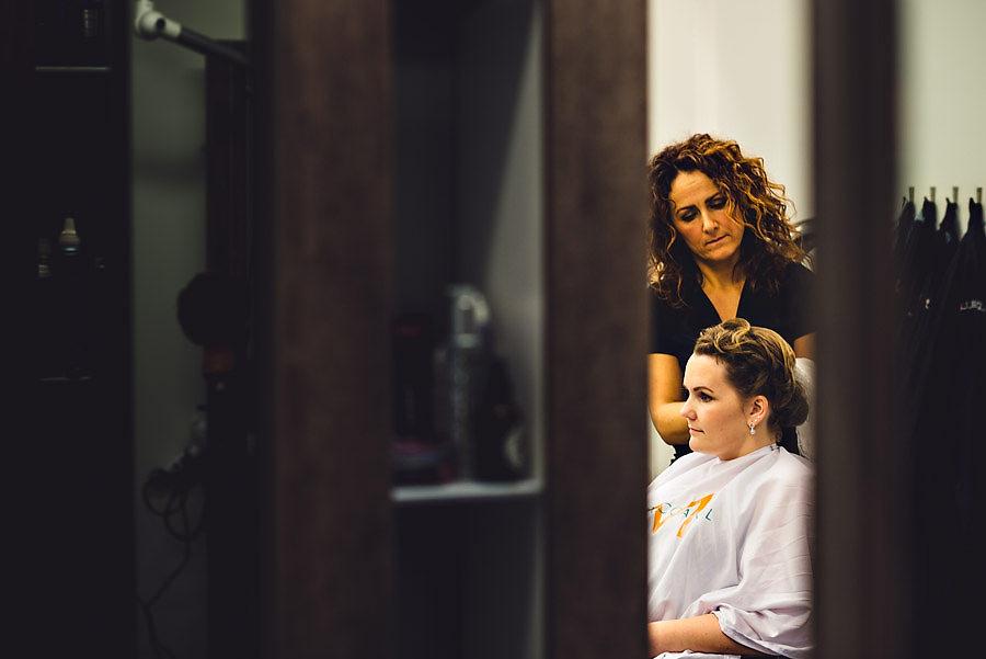 søss & di ålgård frisørsalong brud forberedelser bryllup