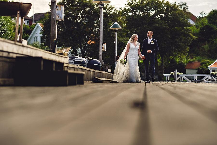 brudepar på roaldsøy bryllup i stavanger
