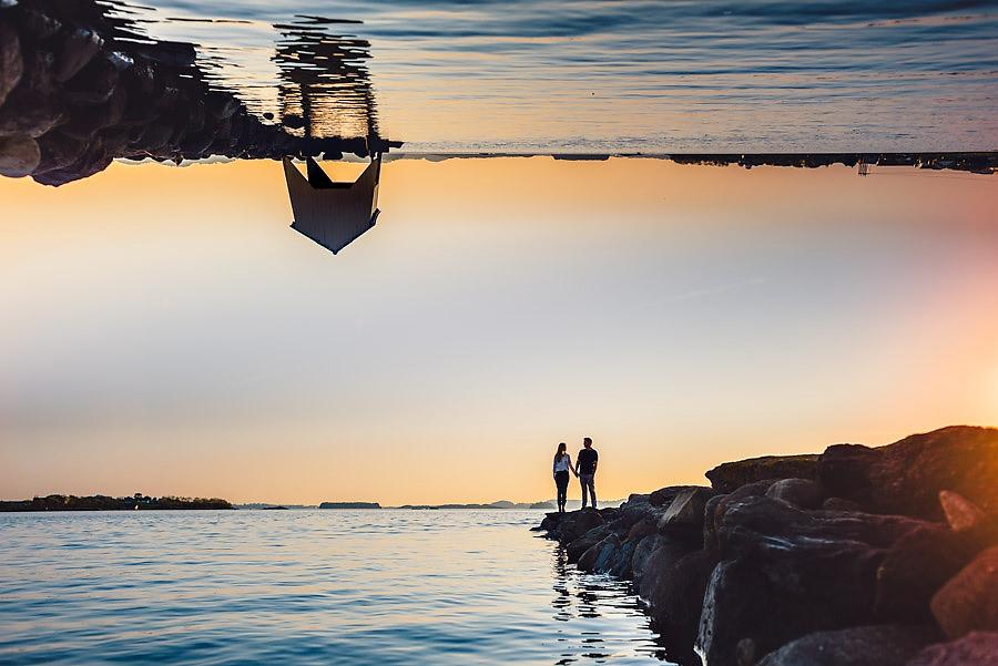 bryllupsfotograf stavanger forlovelsesbilder møllebukta båthus