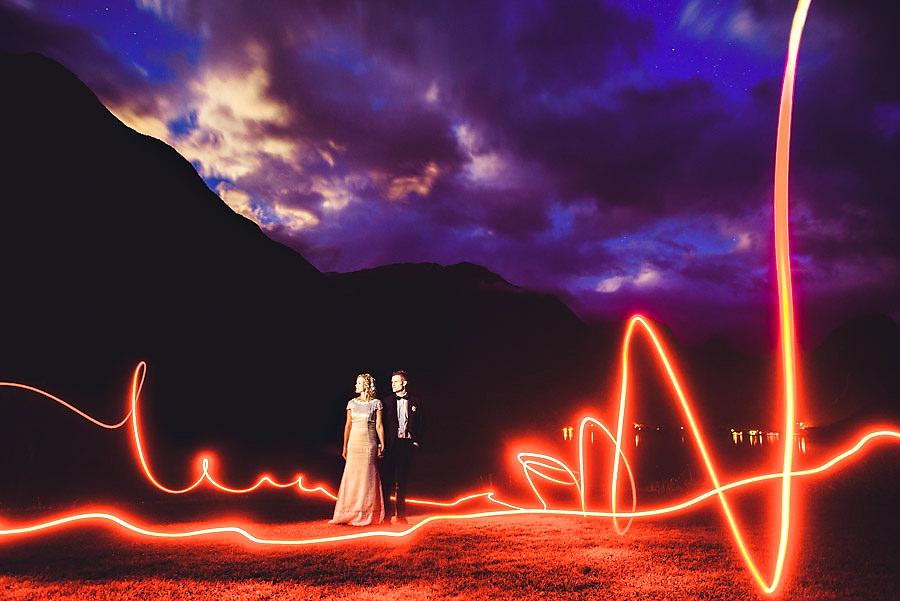 bryllup på yrineset perla ved oldevatnet olden lysmaling i mør