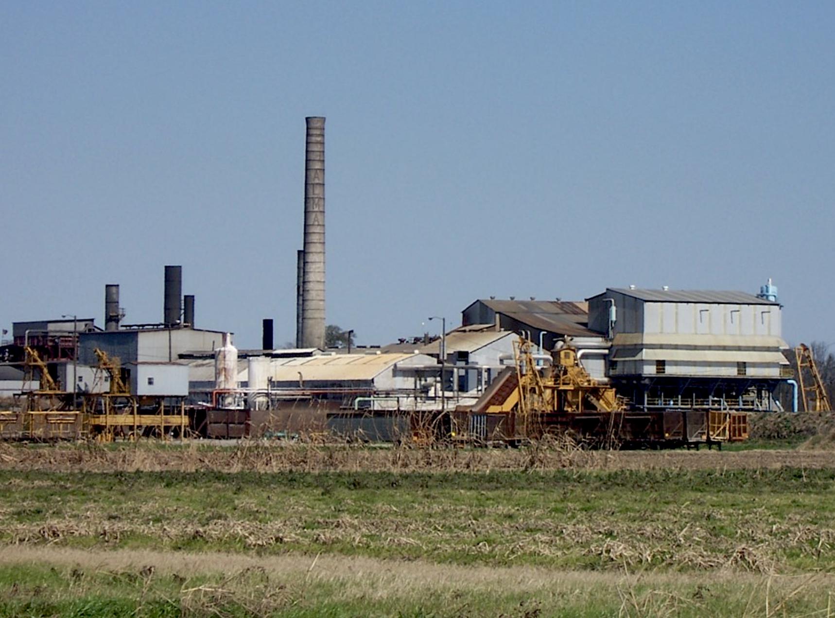 The Alma Sugar Plantation in southeastern Pointe Coupee Parish