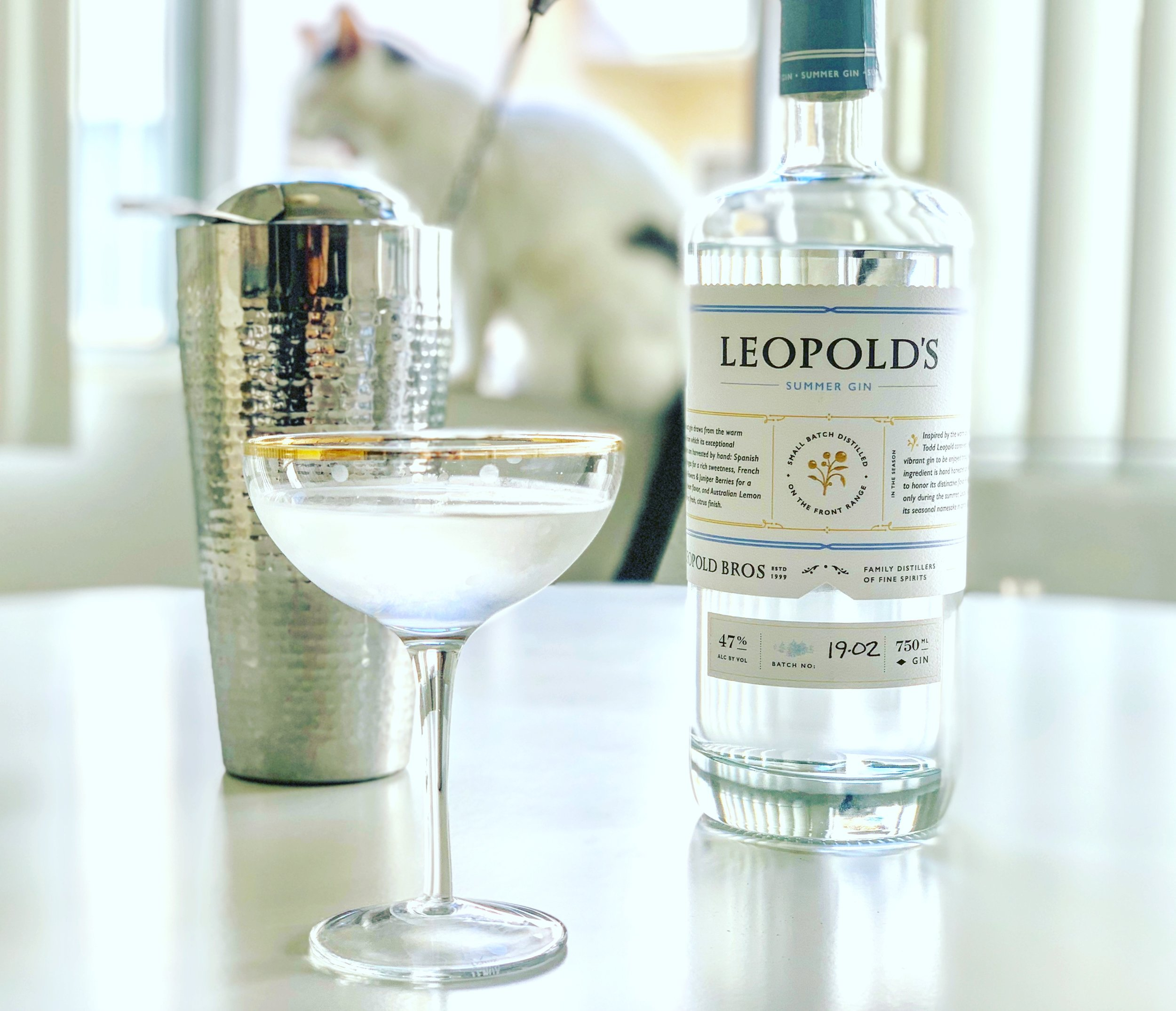 The new 2019 edition of Leopold's Summer gin