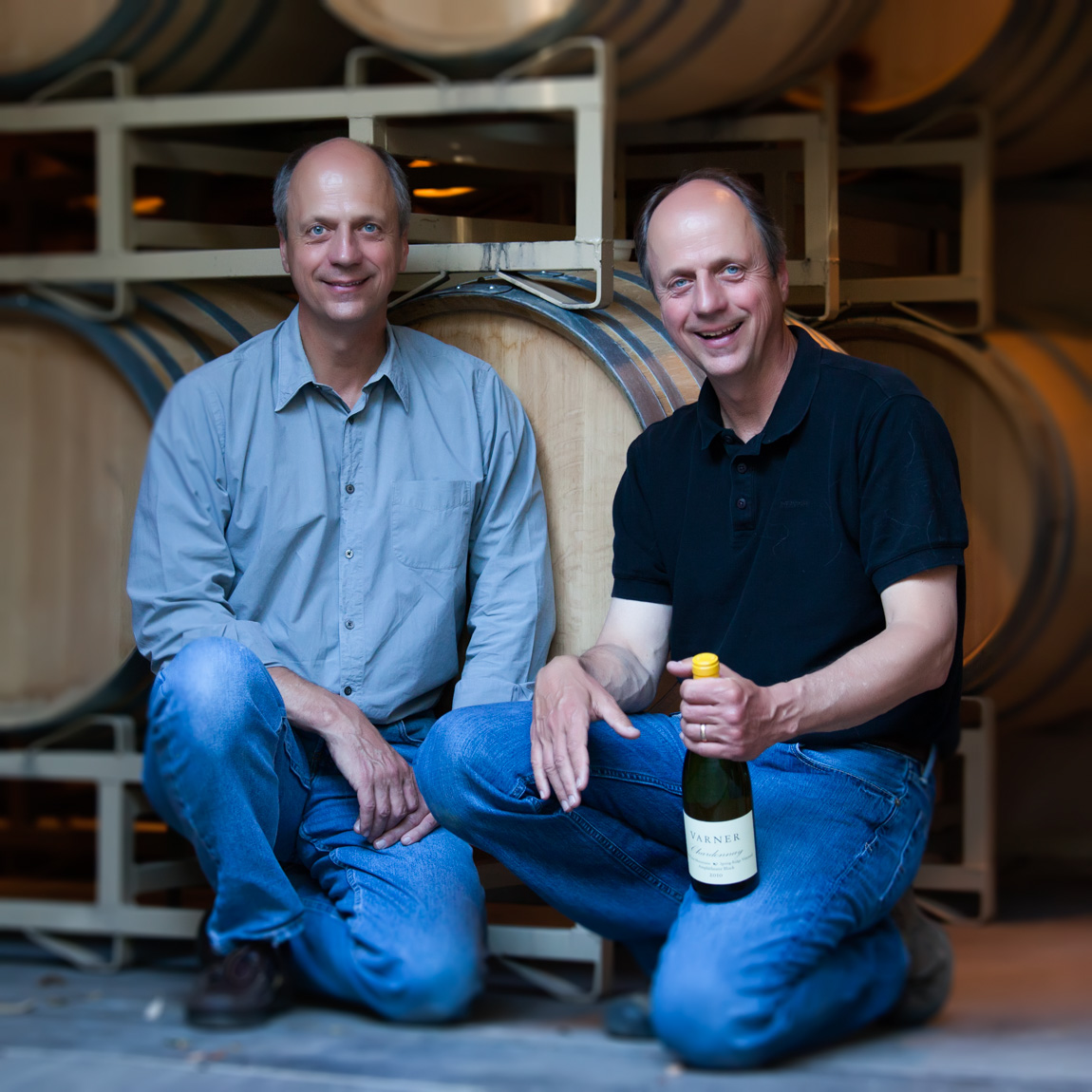 Bob and Jim Varner at their winery