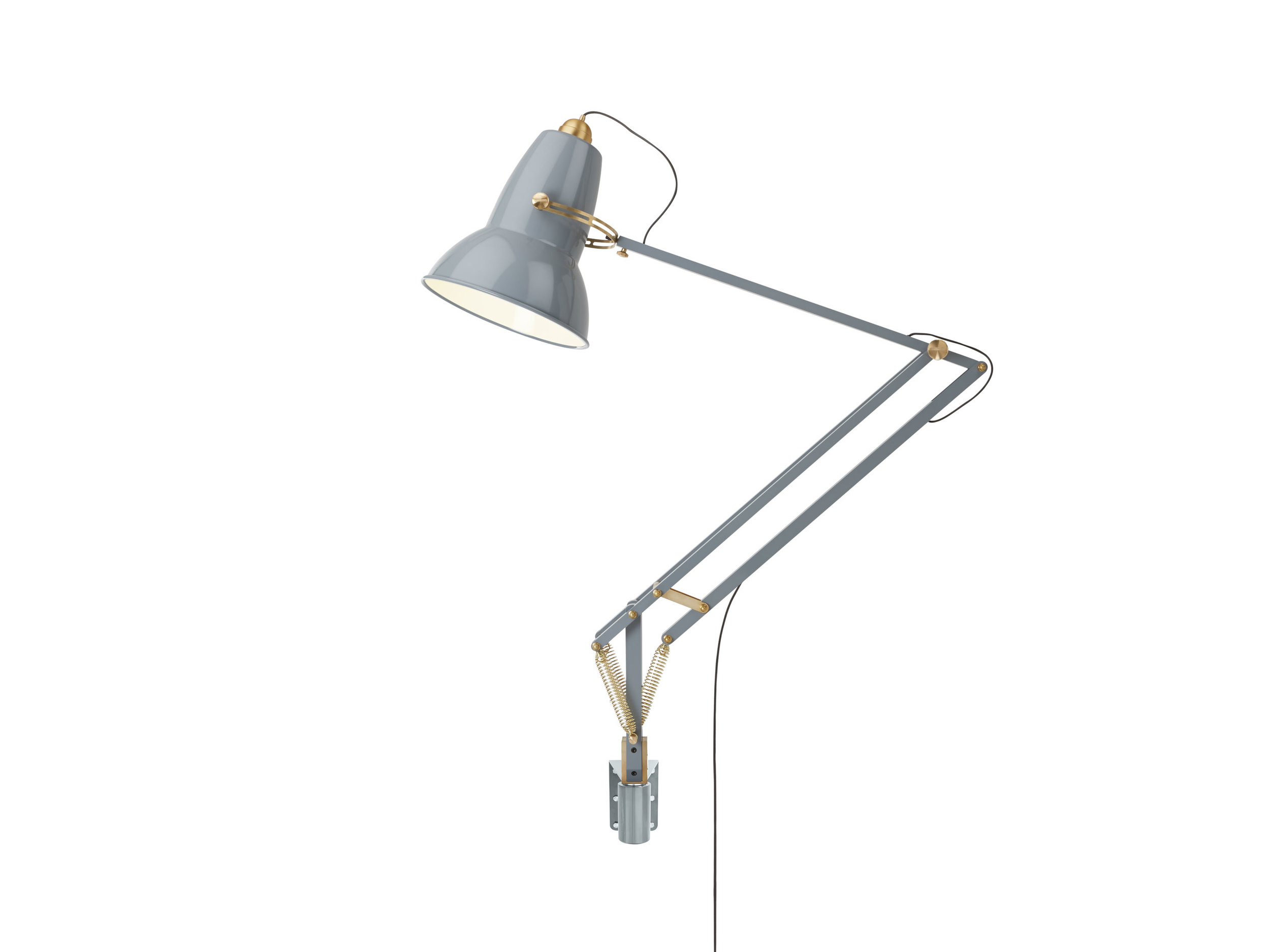 Original 1227 Giant Brass Wall Mounted Lamp - Elephant Grey 2.jpg