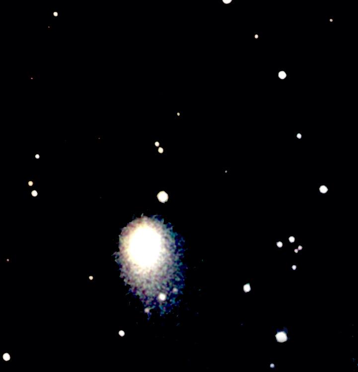 Comet Hartley 2 - image taken using the Faulkes Telescope in Hawaii