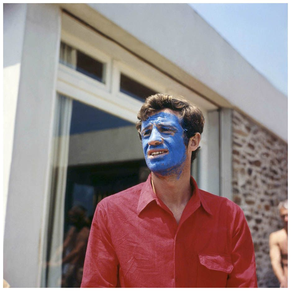 Jean-Paul Belmondo by Georges Pierre, 1965