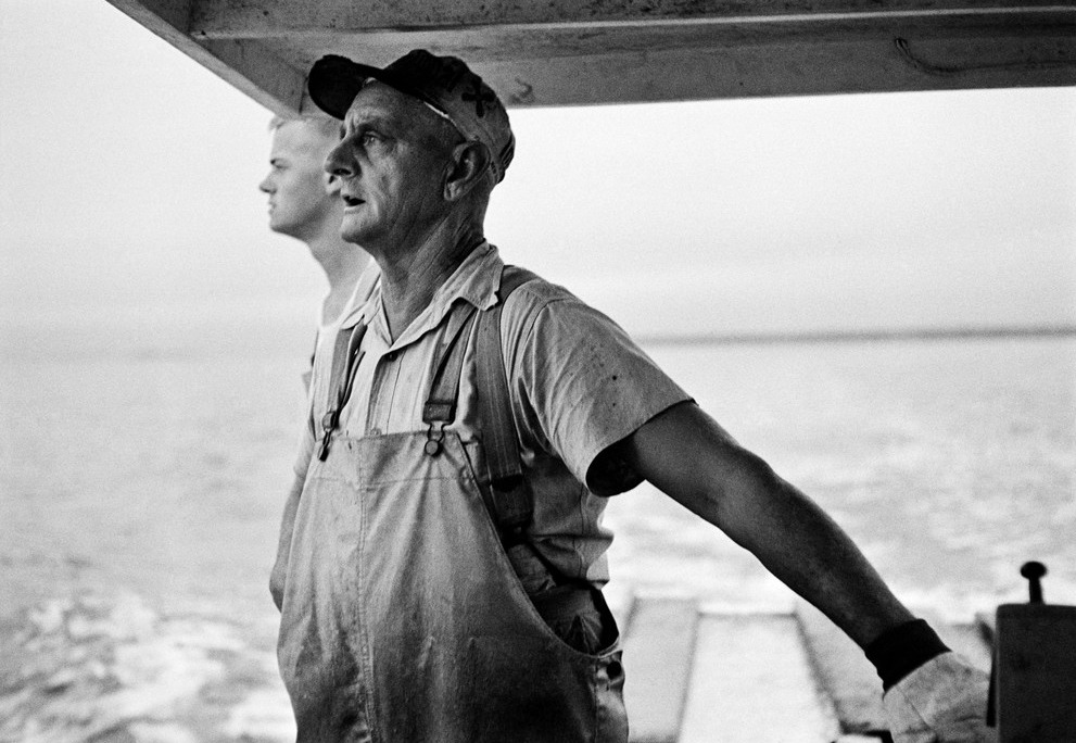Lobsterman in Maine, 1953 by Erich Hartmann
