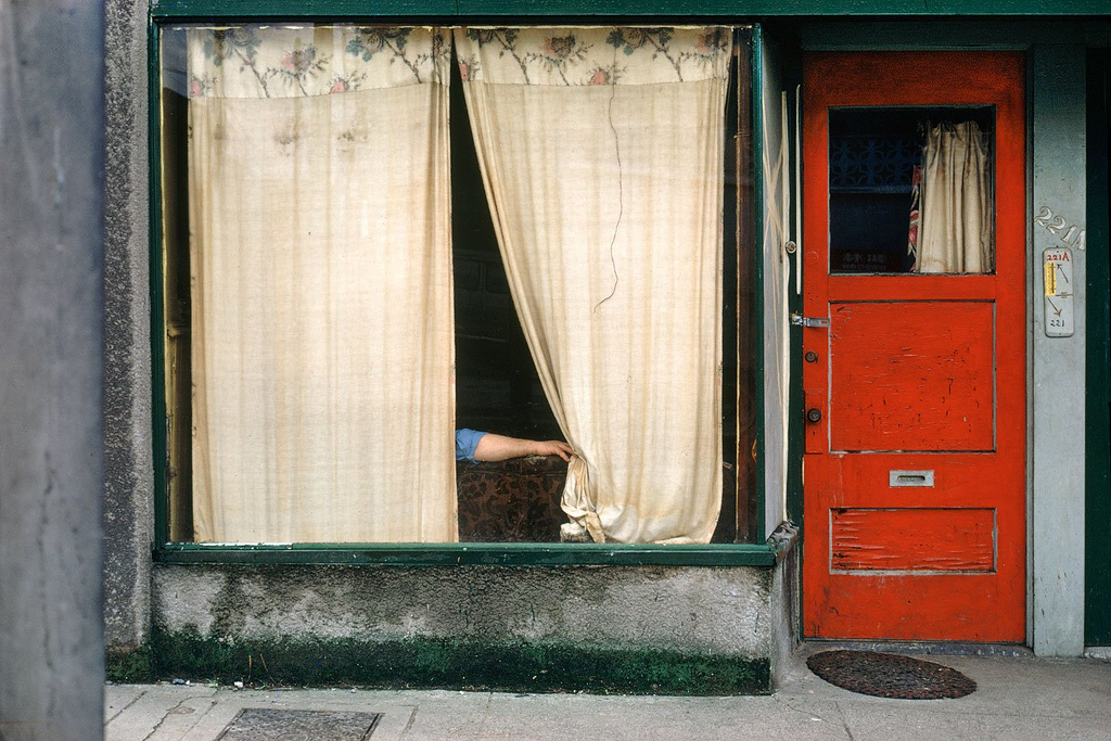 "Fred Herzog ""Curtains"""