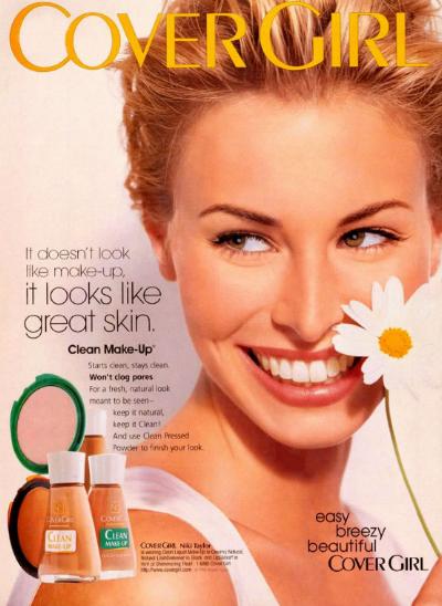 90s CoverGirl model, Niki Taylor.