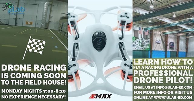 Profesional Drone Racing coming to @fieldhousesparta for more info and to register see the links or visit @ulab_nj  Youtube link:  https://youtu.be/vrejPmRfZqw  Facebook Link:  https://www.facebook.com/ulabNJ/videos/2057885807639704/