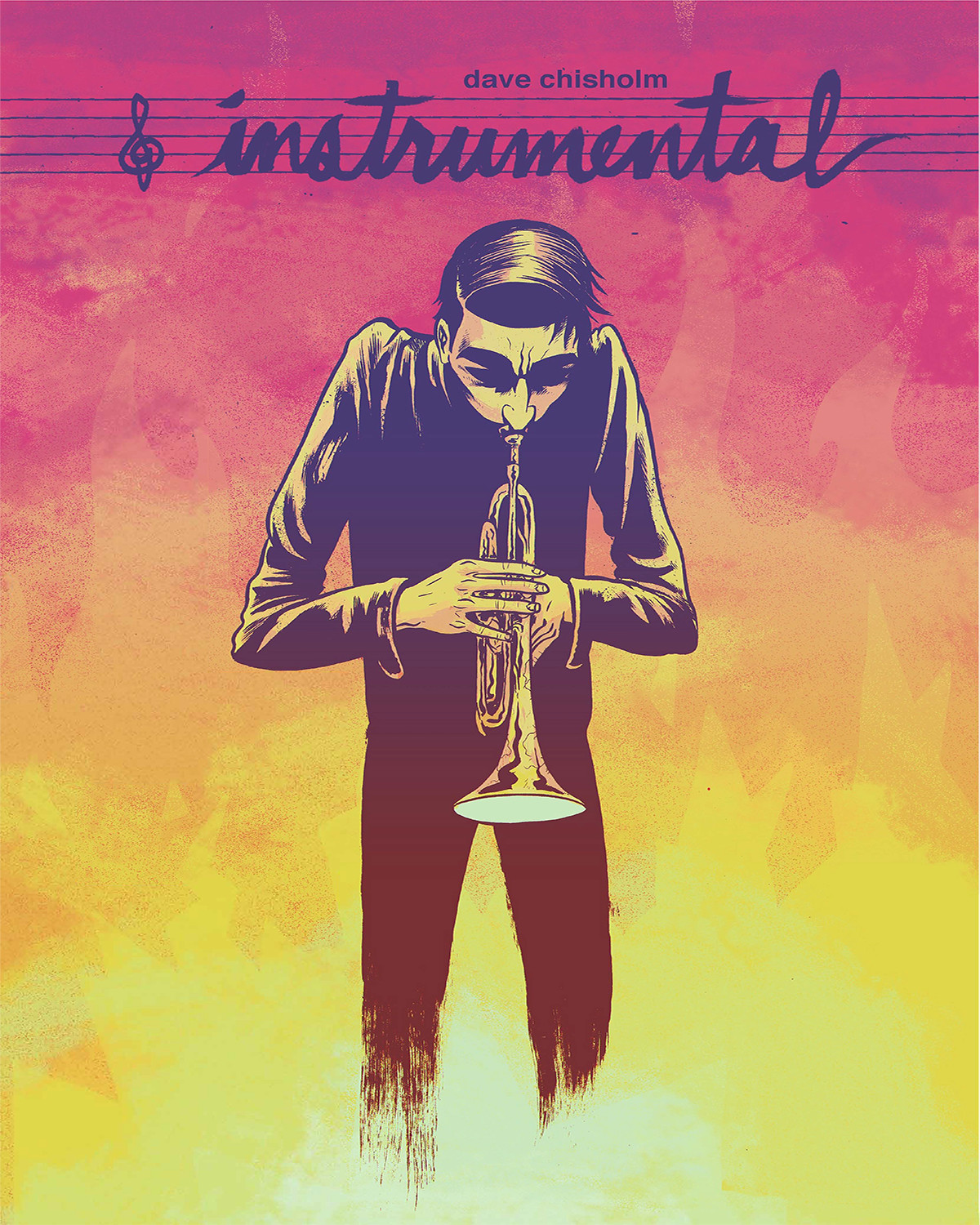 Instrumental: By Dave Chisholm    Tom is a solid, but not great, musician. While his bandmates are happy to play gigs for themselves at their own clubs, drinking free beer and shooting the breeze, Tom aches for the next level, whatever that is. And as musicians are wont to do in magical fables, he meets a mysterious stranger with a seemingly simple offer: take a battered old trumpet for free, and just enjoy it, no exchanges and no strings. Whenever Tom plays it, the extraordinary music blows away his growing throngs of fans, and deadly mishaps start to follow. Tom may not have sold his soul for the music of the heavens, but he seems to have bargained away something much more serious.  Comes with an original downloadable LP of music by Chisholm.