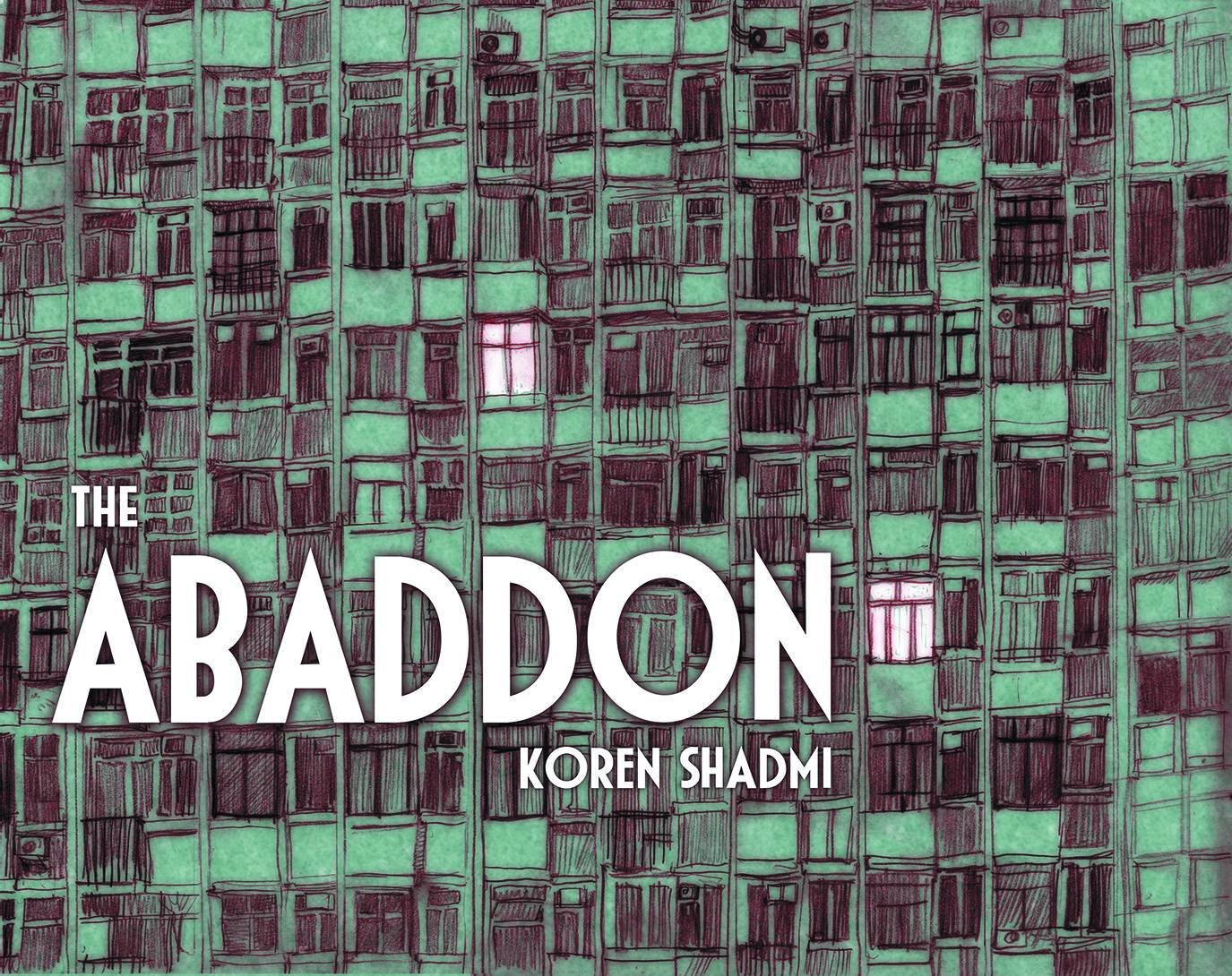 The Abaddon: By Koren Shadmi   A young man finds himself trapped in a bizarre apartment with a group of ill matched roommates. He quickly discovers that his new home doesn't adhere to any rational laws of nature, and poses a strange enigma — a puzzle he needs to solve in order to escape. It's no help that both him and his roommates are missing crucial parts of their memories and identities; he must try and gather the missing pieces as he struggles to find a way out.