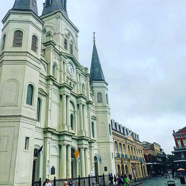 The weather in New Orleans might be gloomy, but the excitement of the Athletic Business Conference as well as the love from the people of New Orleans has got me ready for a week of learning.  @tommy8821  #campusrecpodcast #athleticbusinessconference2018 #athleticbusinessshow2018 #neworleans #highereducation