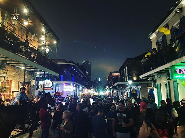 Well that's that for the Athletic Business Conference. It was great to meet some new people and see all of the amazing equipment. Hopefully, I'll see some of you in Boston. #athleticbusiness #athleticbusinessshow #bourbonstreet #neworleans #nirsa2018 #makingnewfriends #octanefitness #precor #hydromessage #prismfitness #sportsartfitness