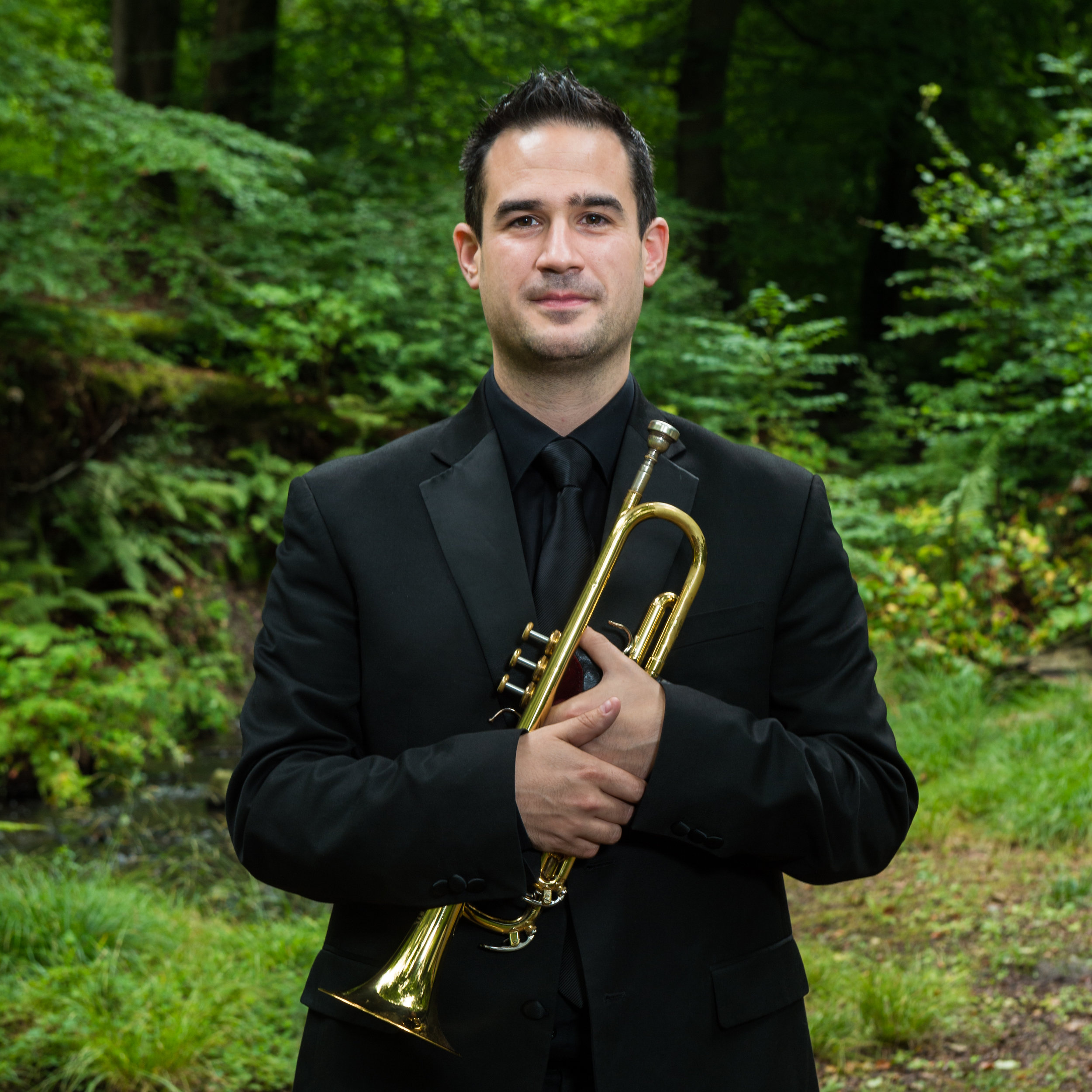 David Collins - trumpet - Originally from County Kildare, David studied trumpet at RSAMD in Glasgow, Sibelius Academy, Helsinki and completed an MMus in Trumpet at the RIAM in Dublin graduating with distinction.He was a member of the European Union Youth Orchestra (2009-2011) and has performed at the BBC Proms.David has performs regualrly with RTÉ National Symphony and Concert Orchestras, and the Irish Chamber Orchestra, in addition to holding the position of principal trumpet no.2 with the Ulster Orchestra (2016-2018).He combines responsibilities as a teacher at the Royal Irish Academy of Music and DIT Conservatory of Music with the role of Artistic Director of Dublin Brass Week, Ireland's international brass festival.
