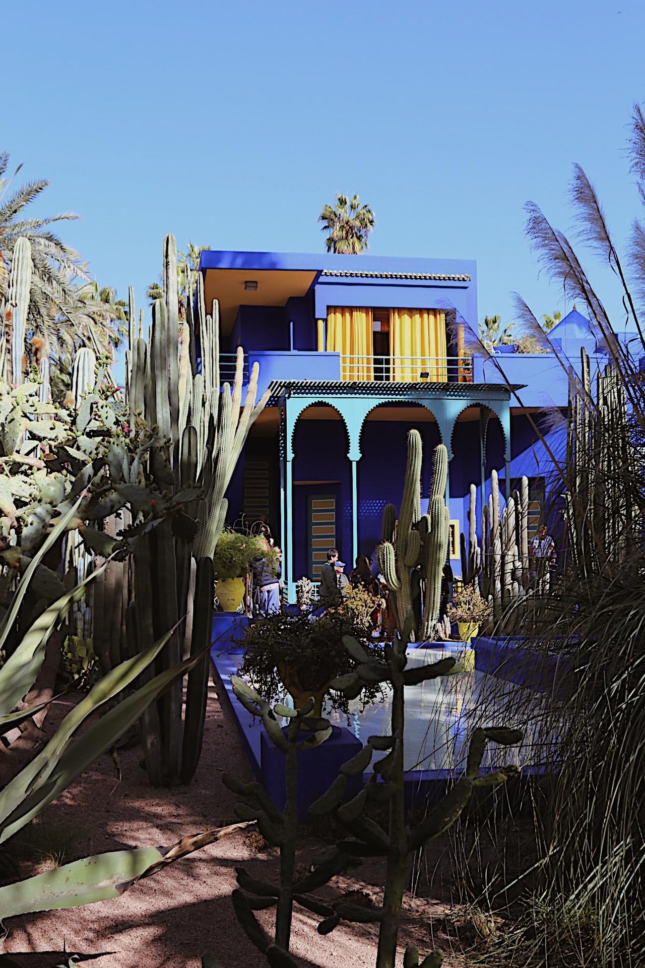 La Jardin Majorelle Marrakech