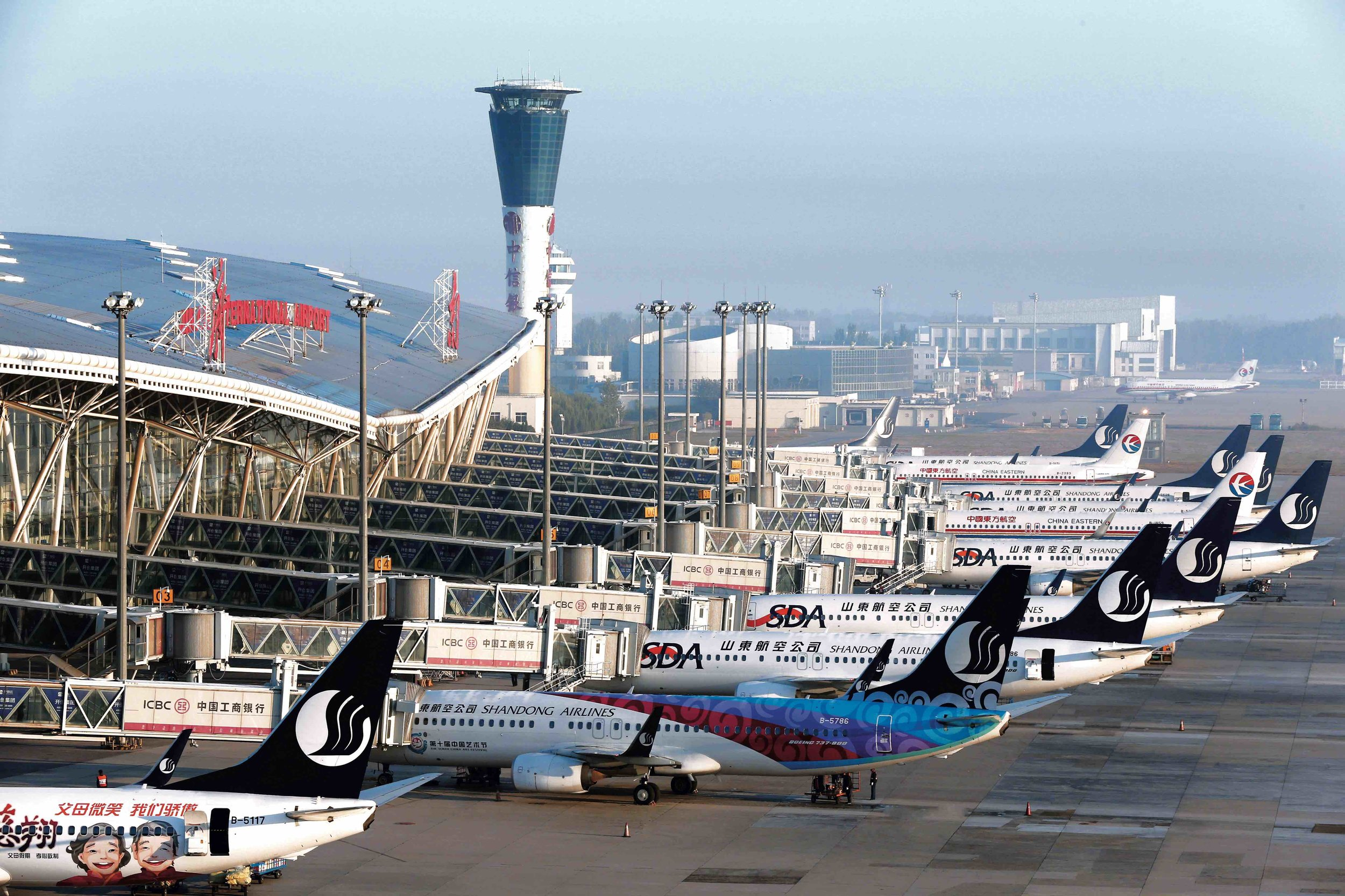 Which other industry is strong in Jinan? -