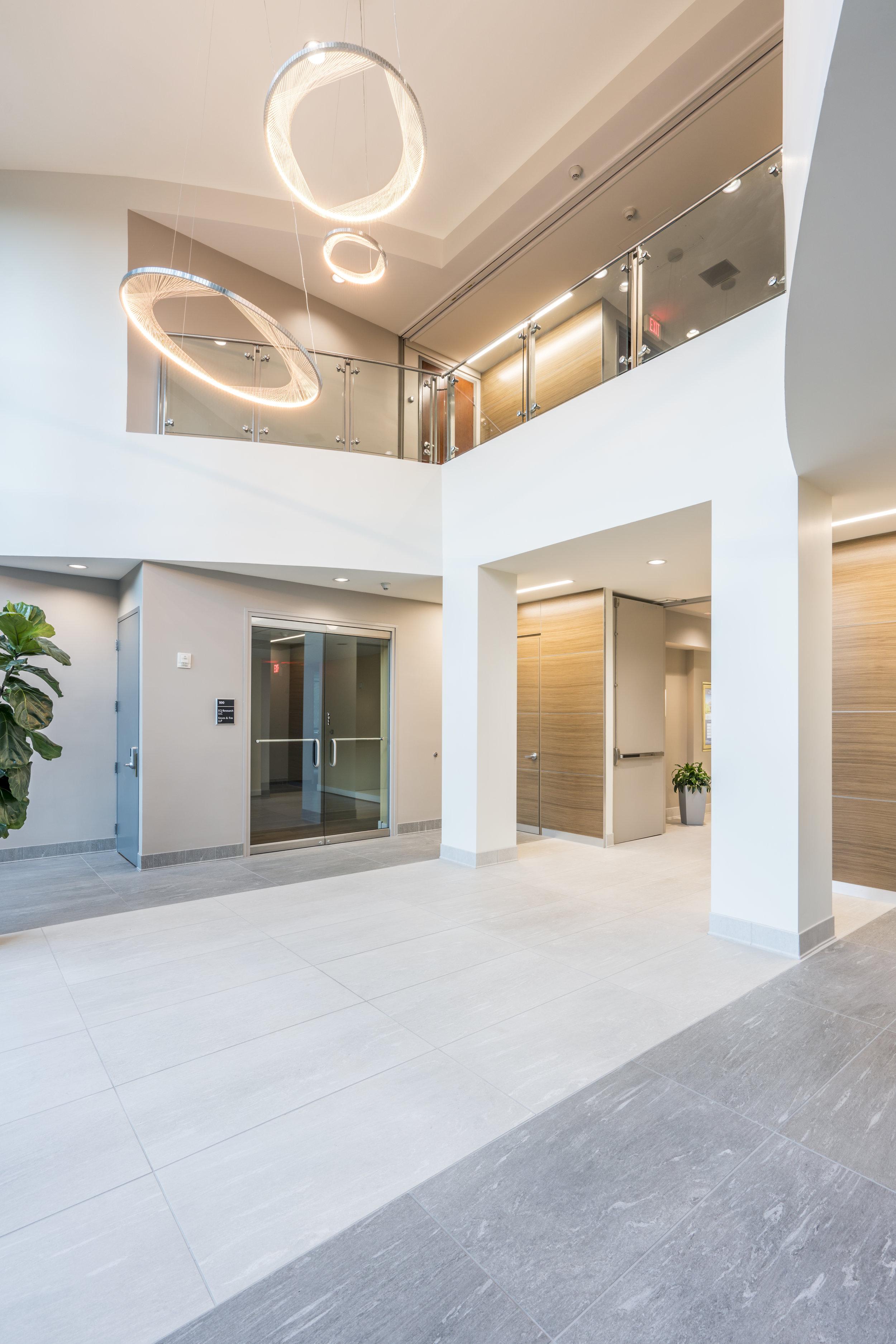 One Harrison Park Lobby Renovation- Cary, NC