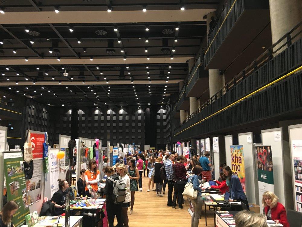 NGO Market 2018: The Stories of Civil Society @ Forum Karlín, Prague, Czech Republic
