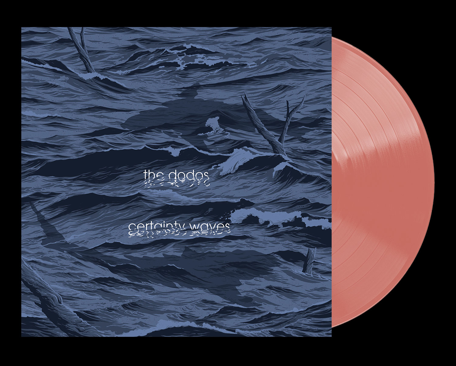 Available on limited edition 180-gram salmon vinyl + digital