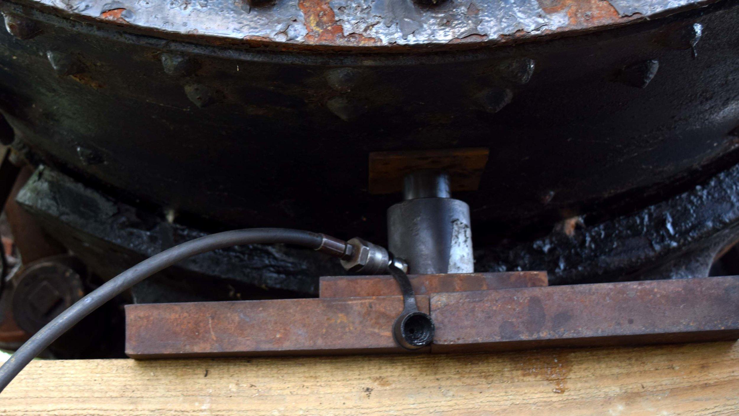 Lifting the boiler.JPG