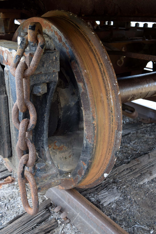 Rust worn off tender wheels.JPG