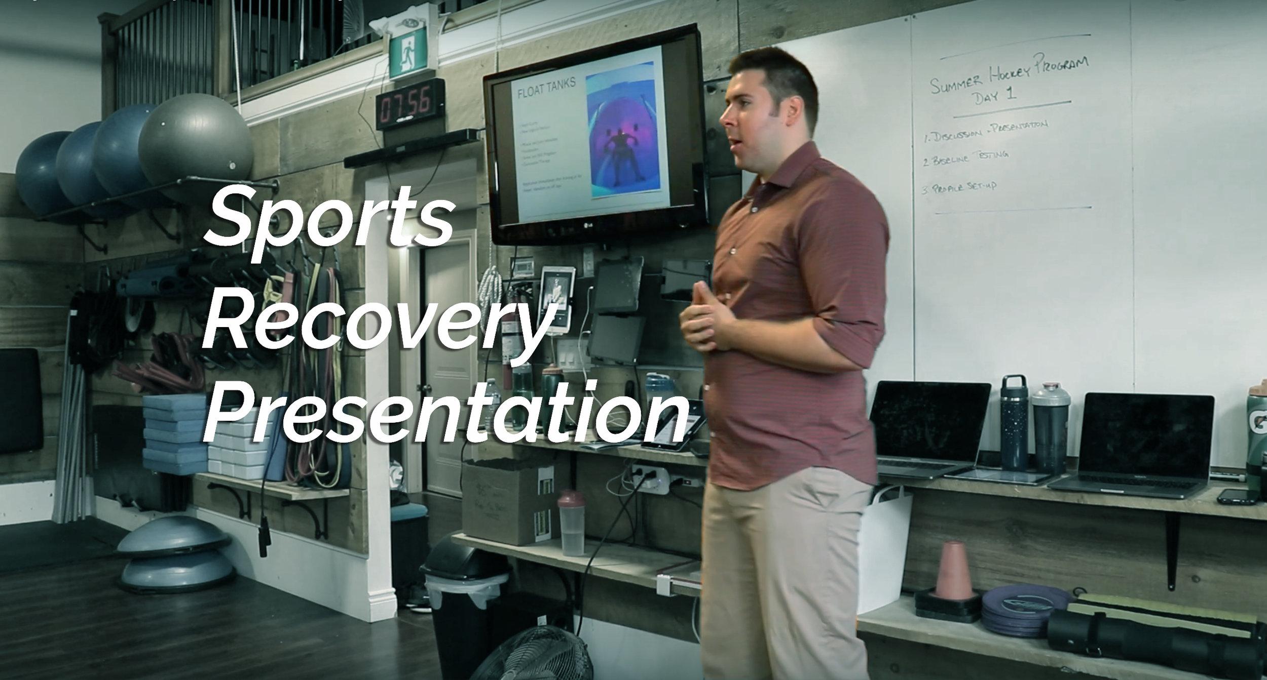 sportsrecoverypresentation