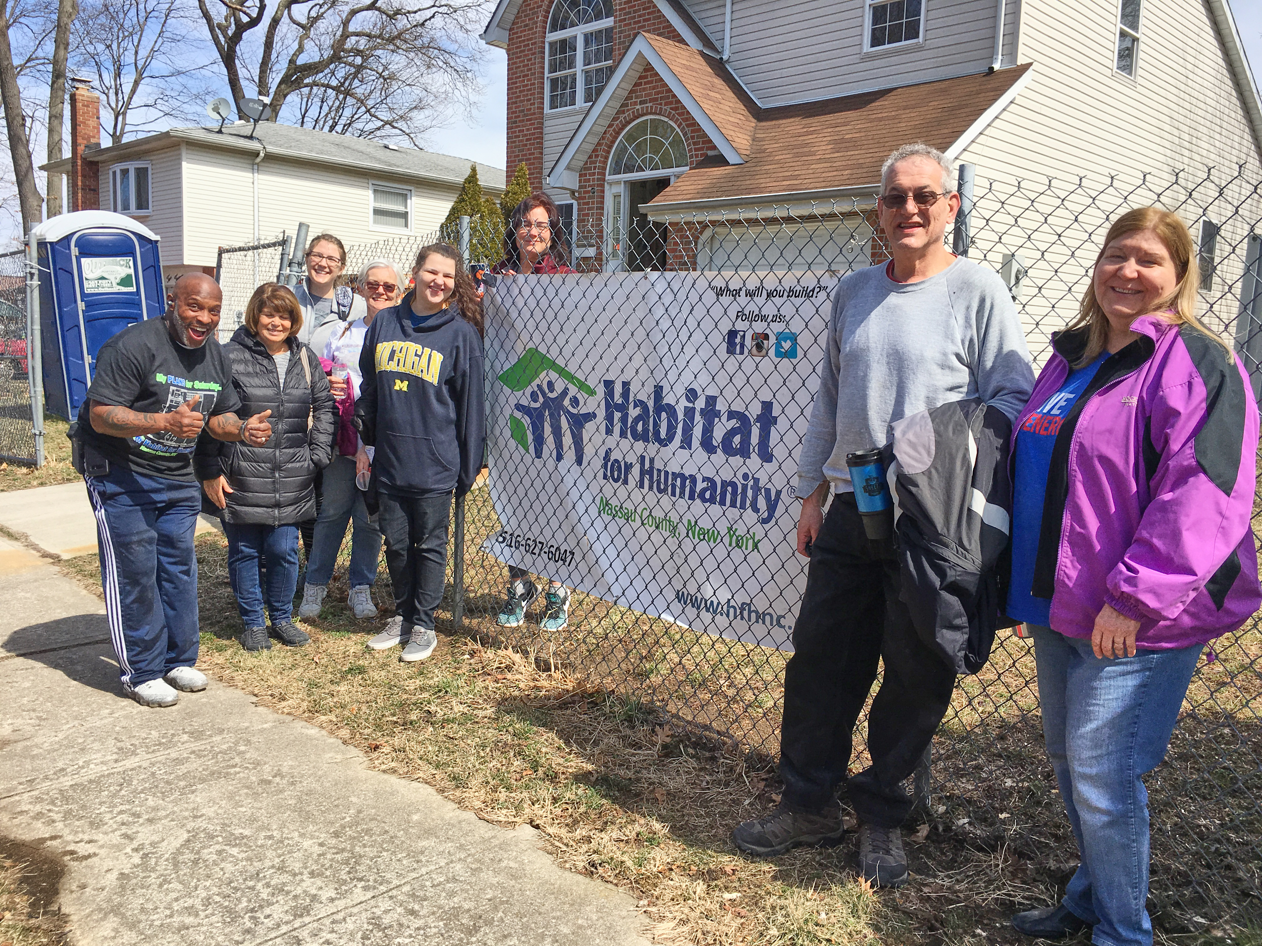 Habitat for Humanity Photos - Eight CLC volunteers helped with a house project in Roosevelt in Nassau County on Saturday, March 23rd. Thank you to these generous church members who gave their time and effort to help a family own their own home. We know how to insulate a house now! Check out the photos here.