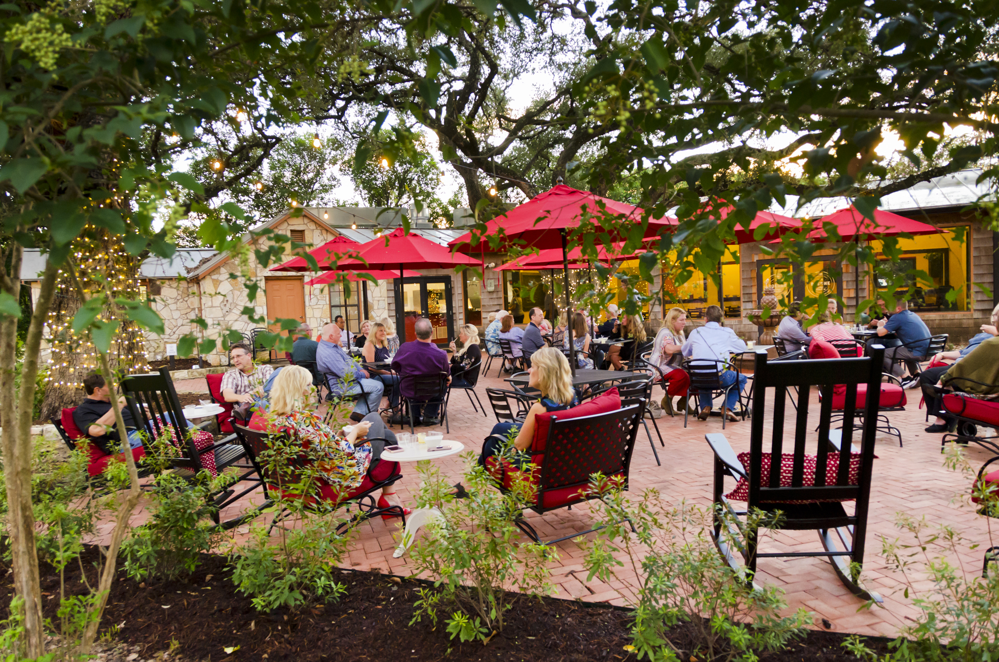 relax on our great patio -