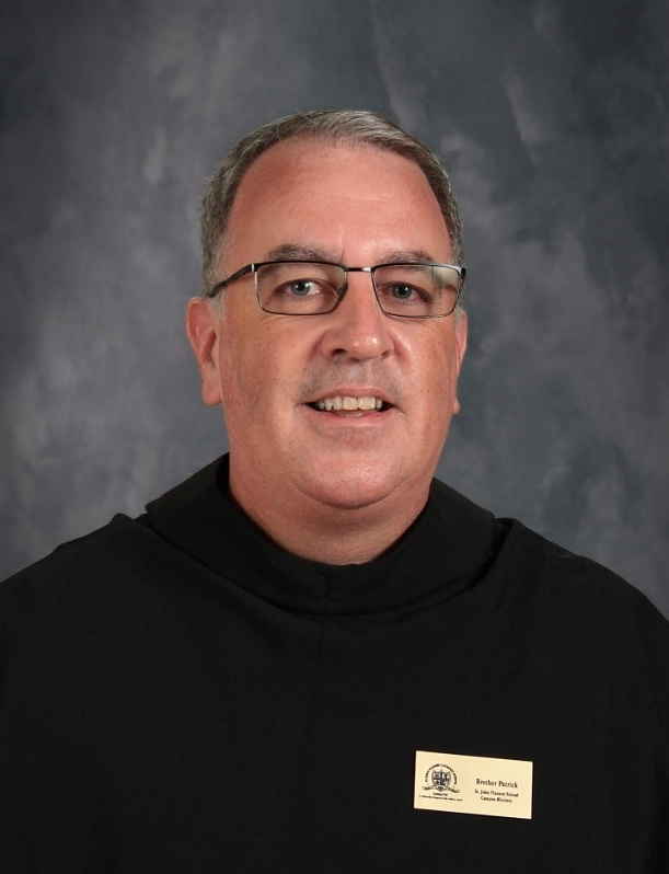 Brother Patrick Corrigan  Campus Ministry/ 6th Grade Homeroom(Ext. 244)