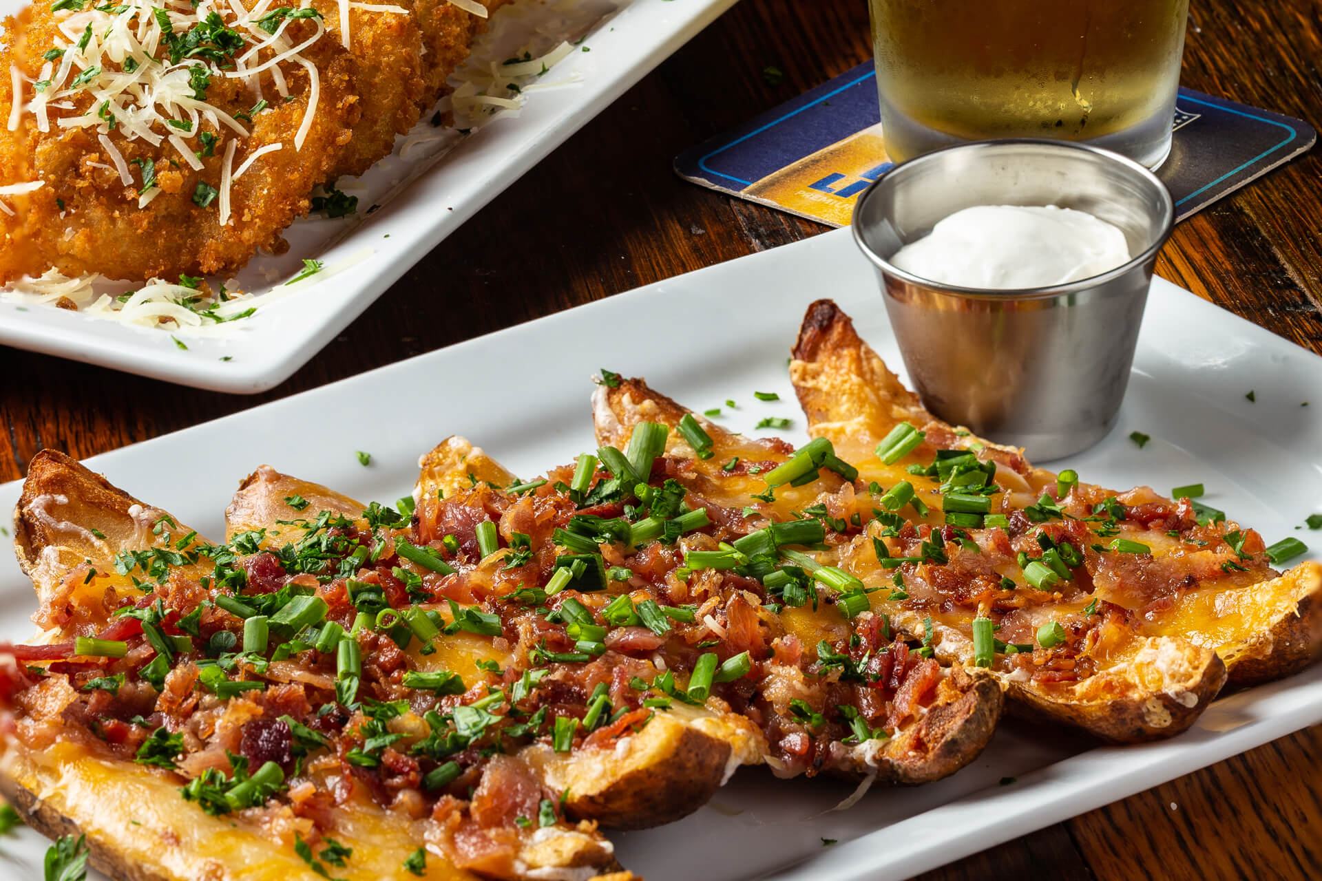 HAPPY HOUR: WEEKDAYS 4-7PM - 1/2 Off Select AppetizersAll Buckhead Mountain Grill Locations$1-Off Domestic Bottles & Pints, Well Cocktails, and Select WinesLouisville and Bellevue Locations Only